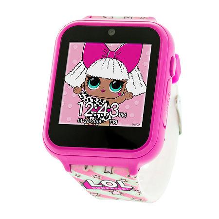 Lol Surprise Loloi Girls Multicolor Smart Watch-Lol4104jc, One Size , No Color Family