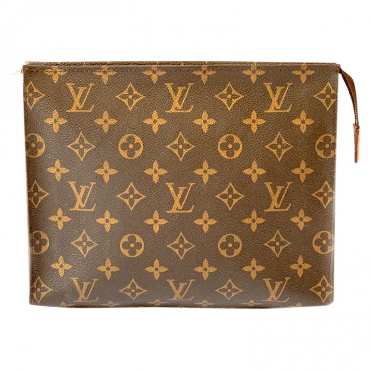 Louis Vuitton Poche toilette Brown Cloth Travel bag for Women \N