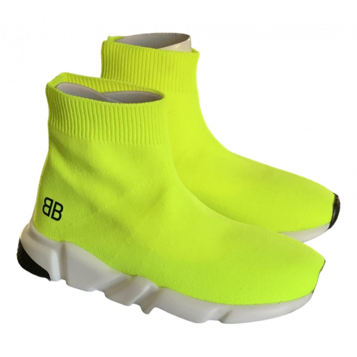 Balenciaga - Baskets   pour enfant - jaune