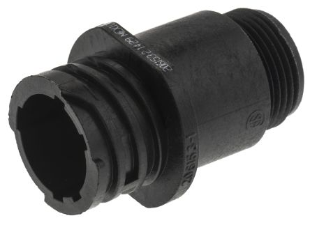 TE Connectivity Connector, 4 contacts Cable Mount Socket, Crimp