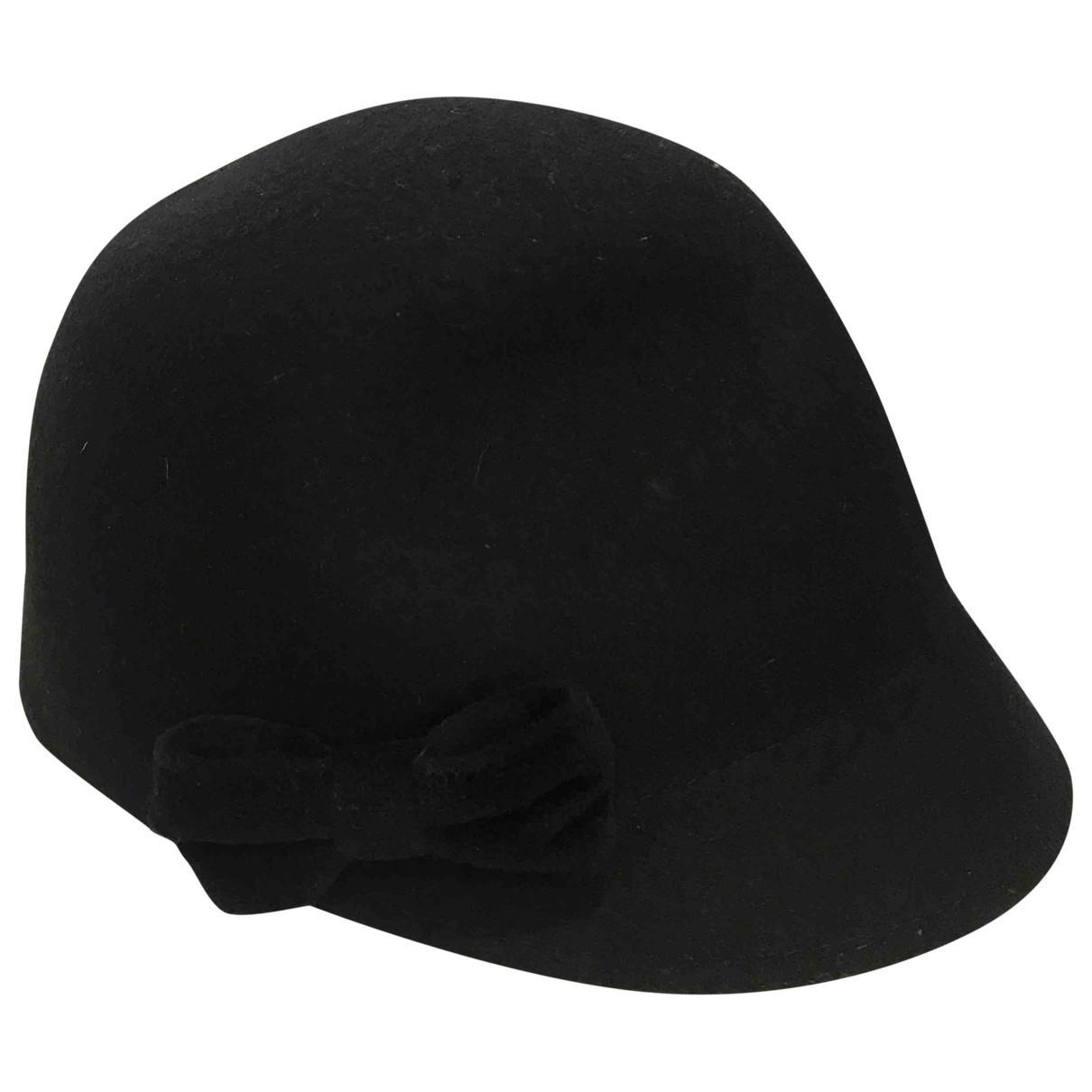 - Chapeau Hippie Chic pour femme en laine - noir