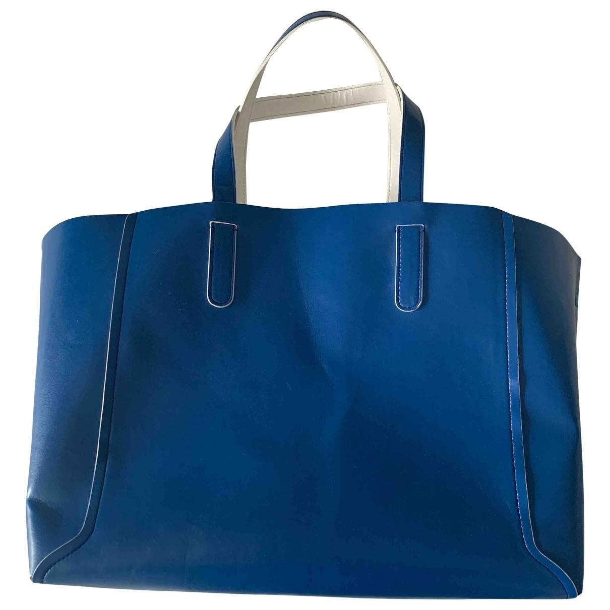 Gerard Darel - Sac a main Simple Bag pour femme en cuir - bleu