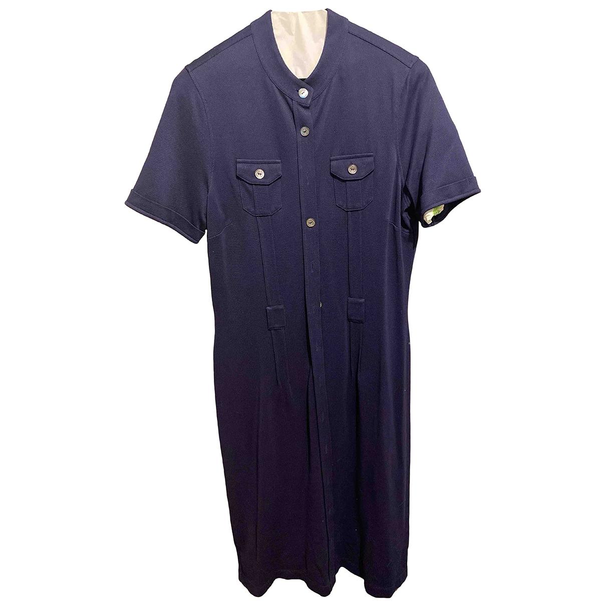 Brooks Brothers \N Kleid in  Blau Baumwolle
