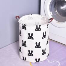 Cartoon Graphic Foldable Dirty Clothes Hamper
