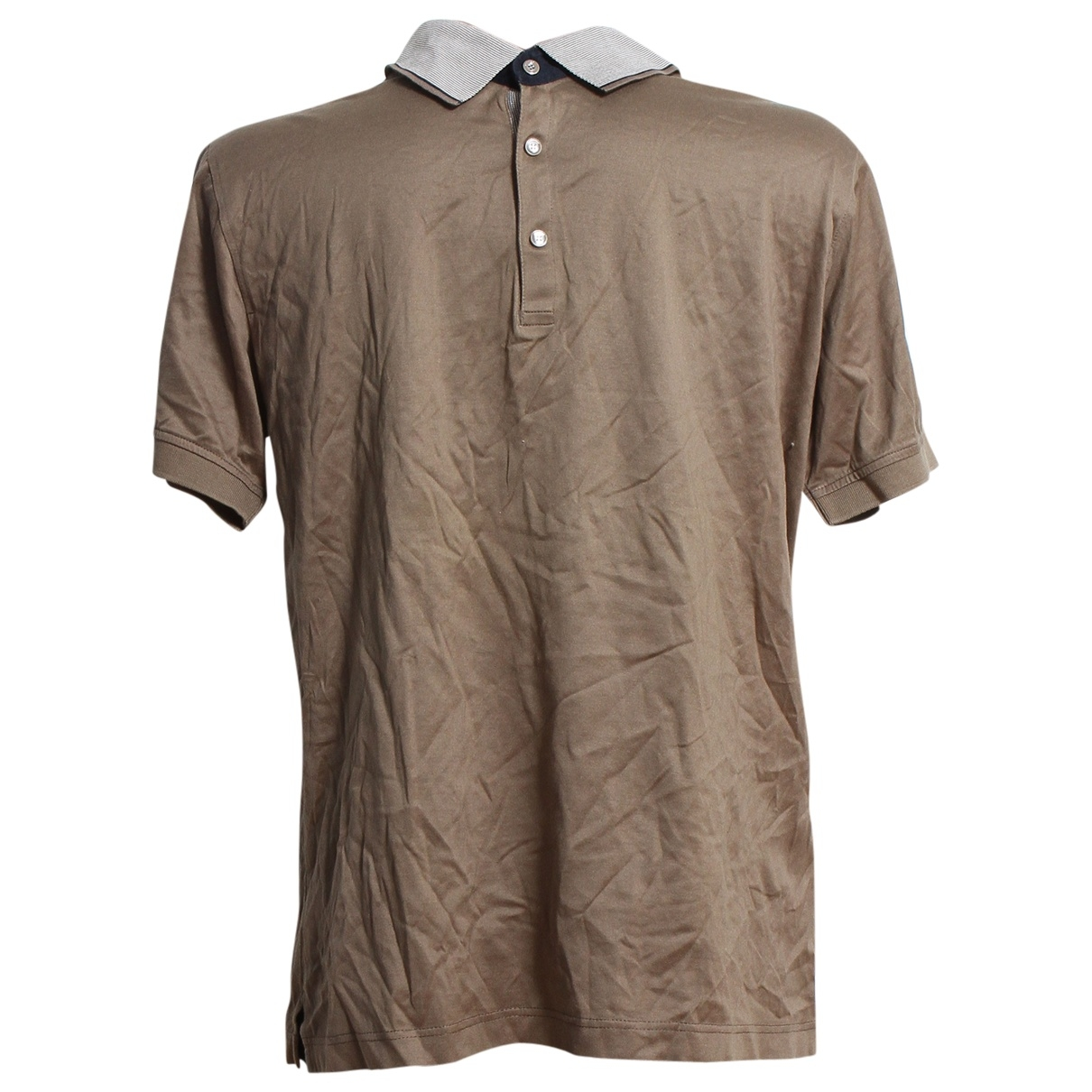 Karl Lagerfeld \N Brown Cotton Polo shirts for Men L International