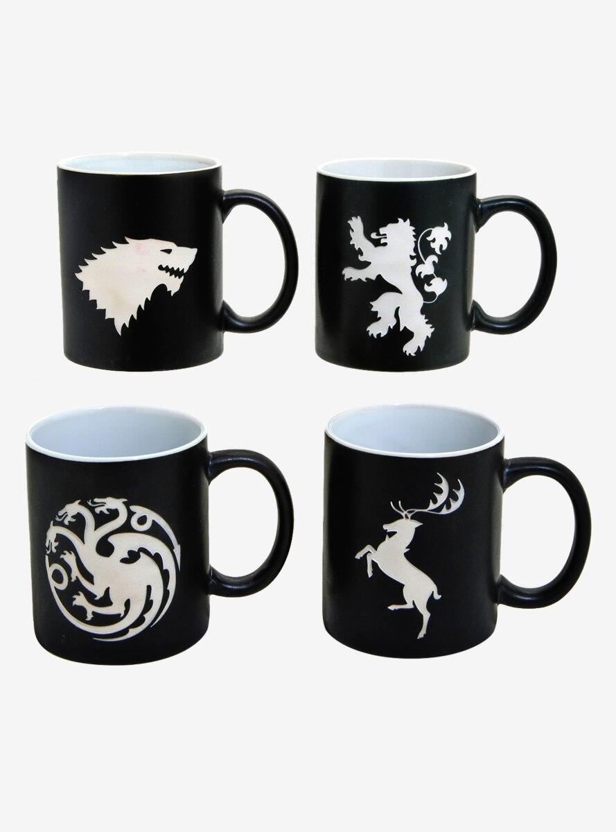 Game of Thrones Laser Etched Mug Set