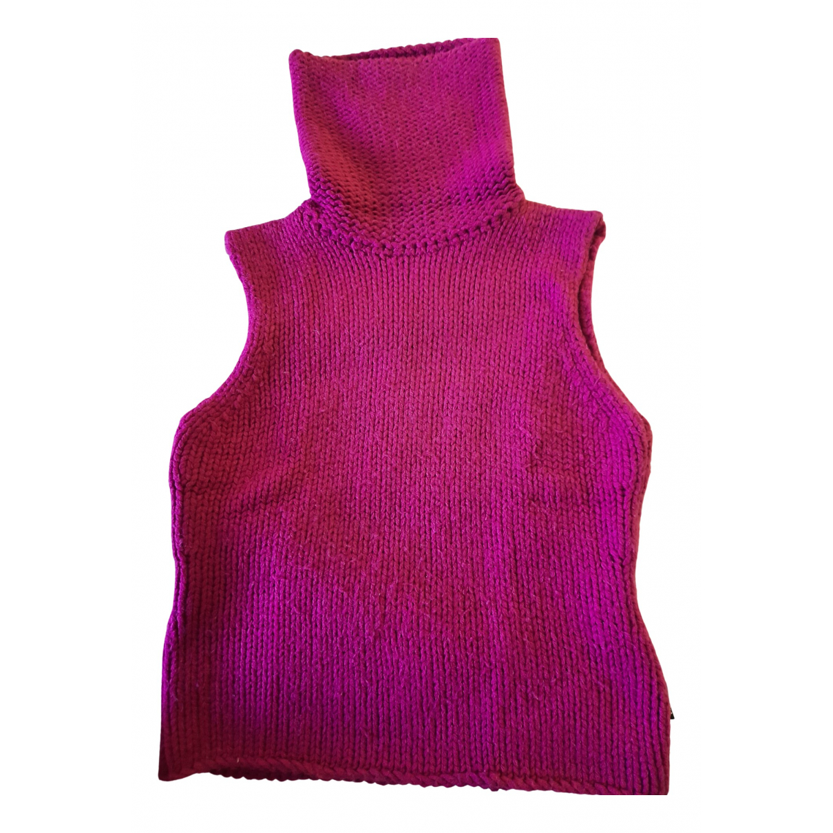Versace Jeans \N Pullover in  Rosa Wolle