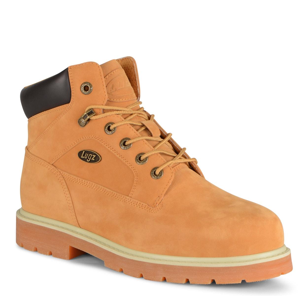 Men's Mortar Mid Steel Toe Chukka Boot (Choose Your Color: GOLDEN WHEAT/BARK/CREAM, Choose Your Size: 8.0)