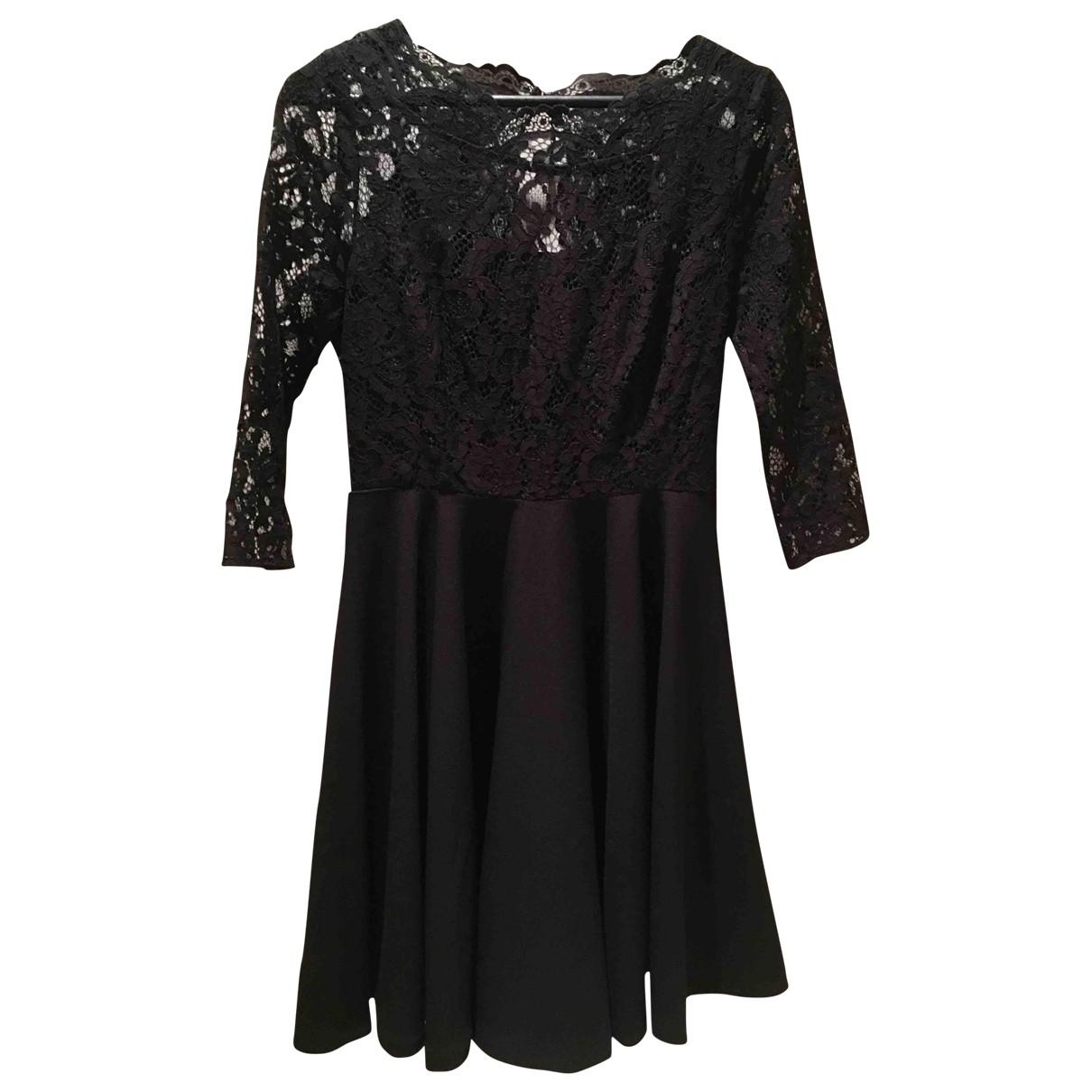 Claudie Pierlot \N Black Lace dress for Women 38 FR