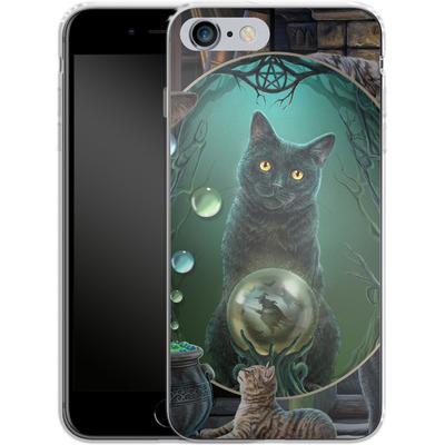 Apple iPhone 6 Plus Silikon Handyhuelle - Magical Cats Montage von Lisa Parker