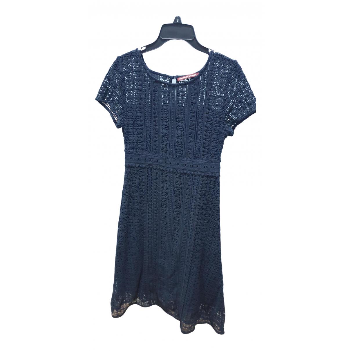 Comptoir Des Cotonniers - Robe   pour femme en coton - noir