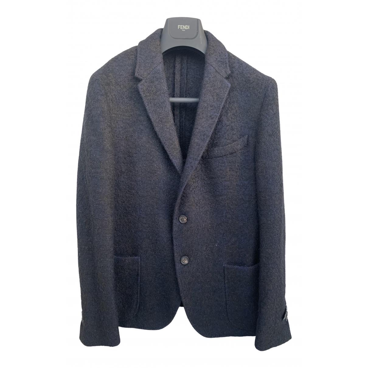 Fendi - Vestes.Blousons   pour homme en laine - gris