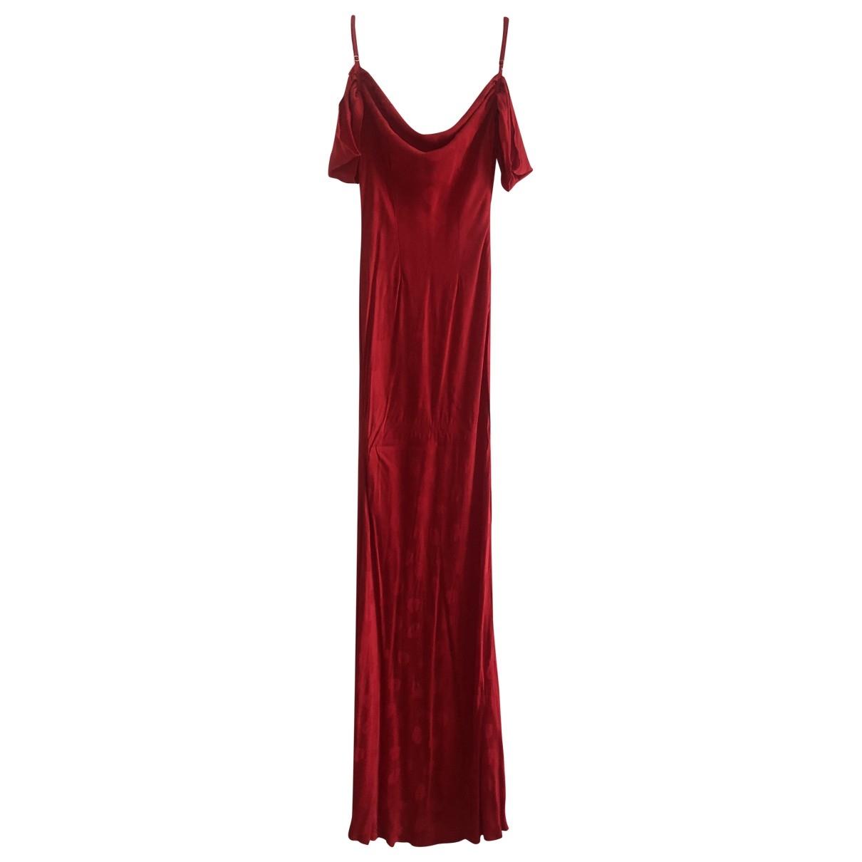 Rat & Boa \N Kleid in  Rot Polyester