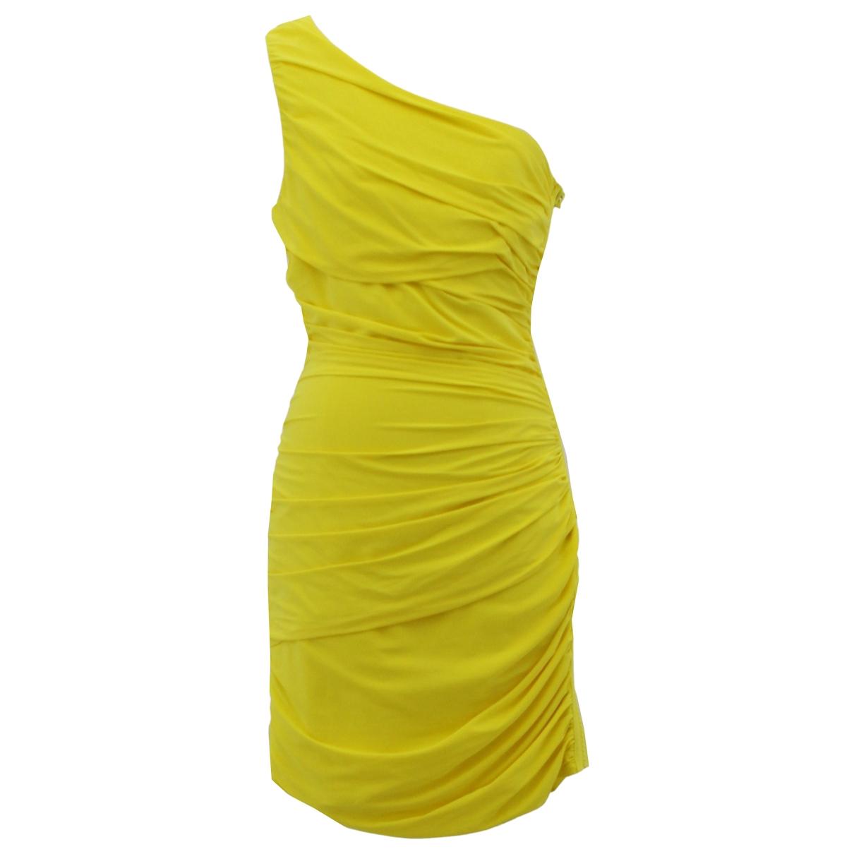 Emporio Armani - Robe   pour femme - jaune