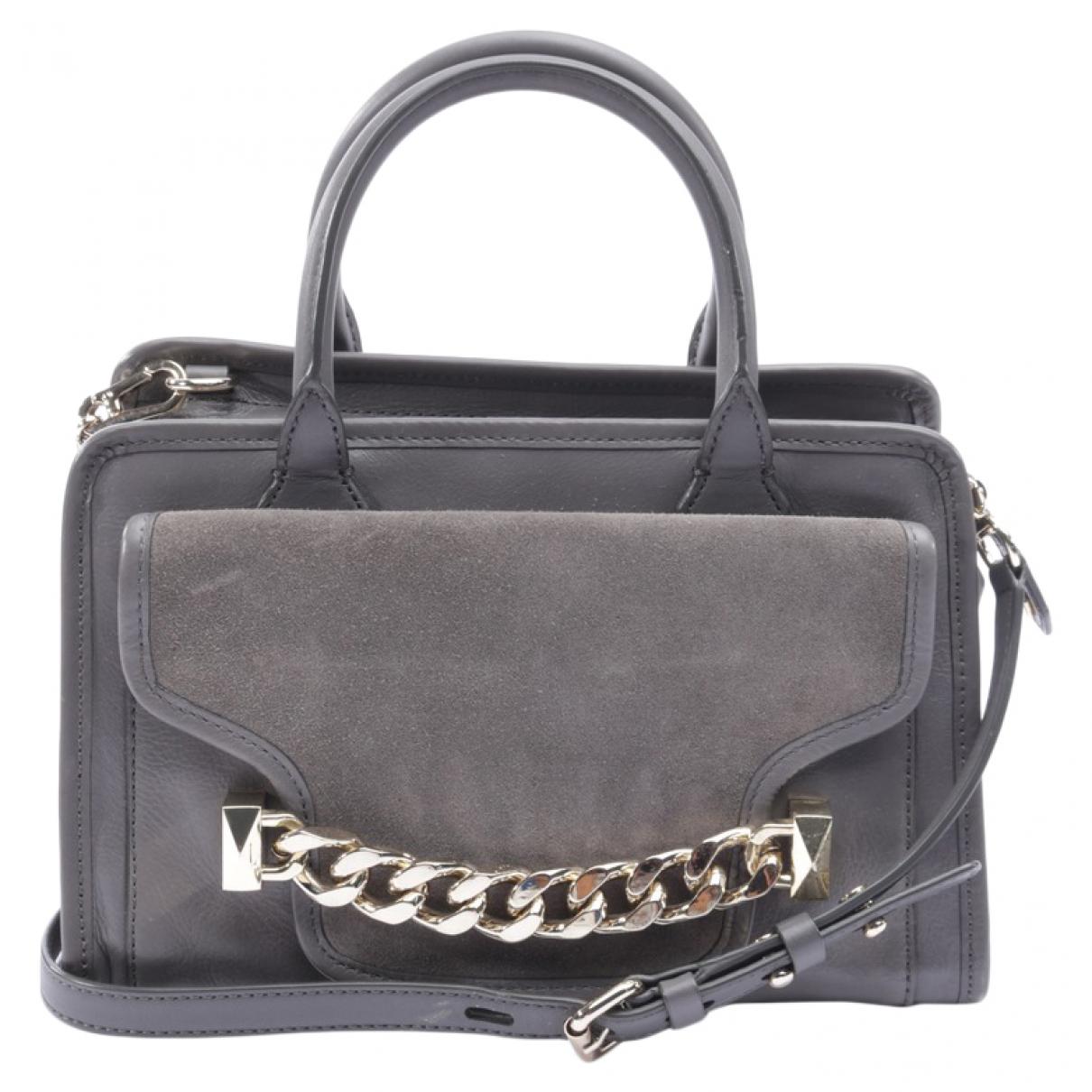 Karl Lagerfeld \N Grey Leather handbag for Women \N