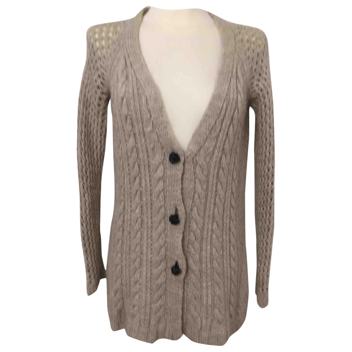 Twin Set - Pull   pour femme en laine - beige