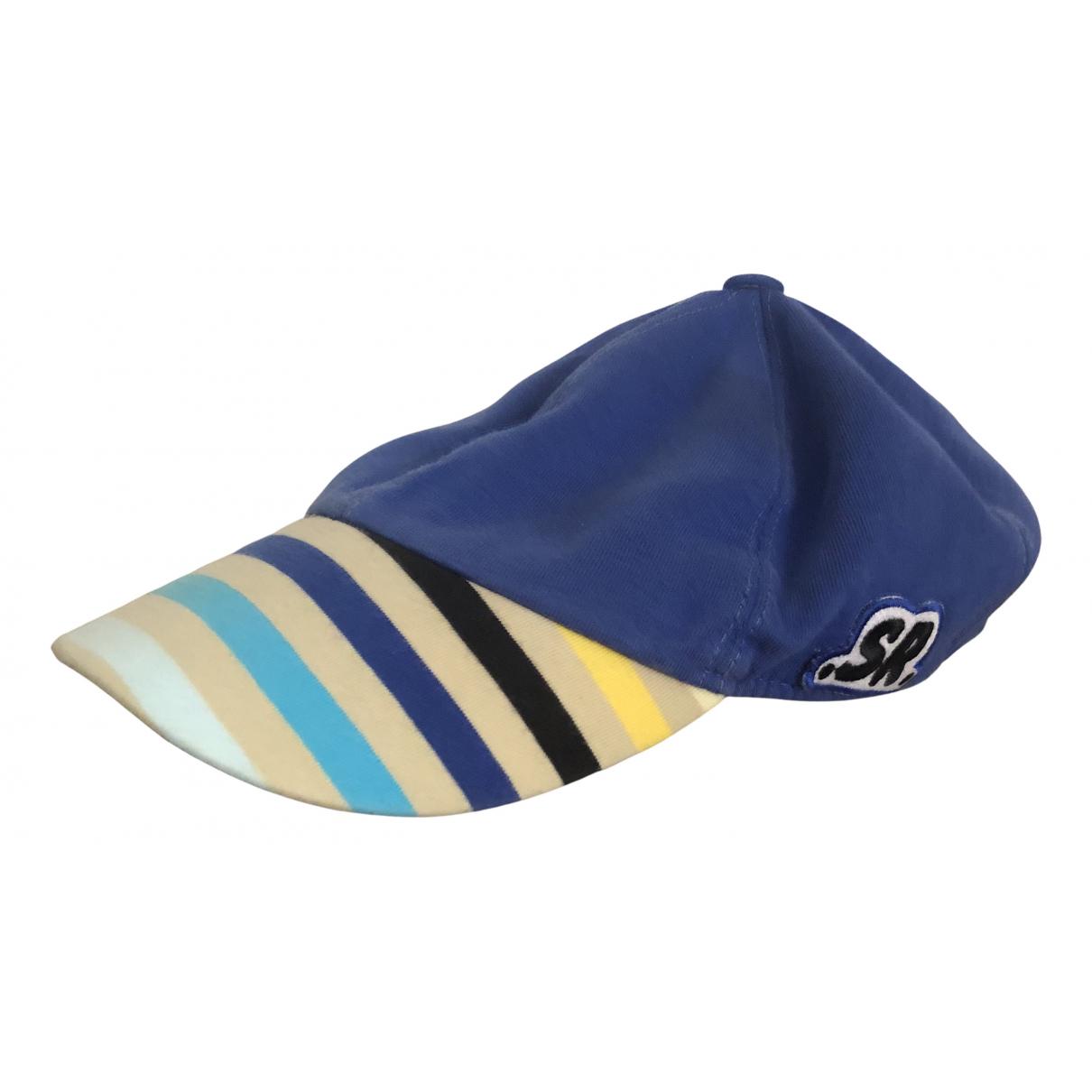 Sonia Rykiel \N Hut, Muetzen, Handschuhe in  Blau Baumwolle