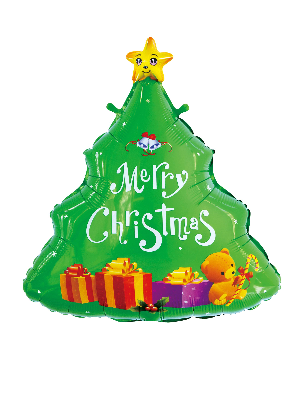Folienballon Weihnachtsbaum Farbe: gruen
