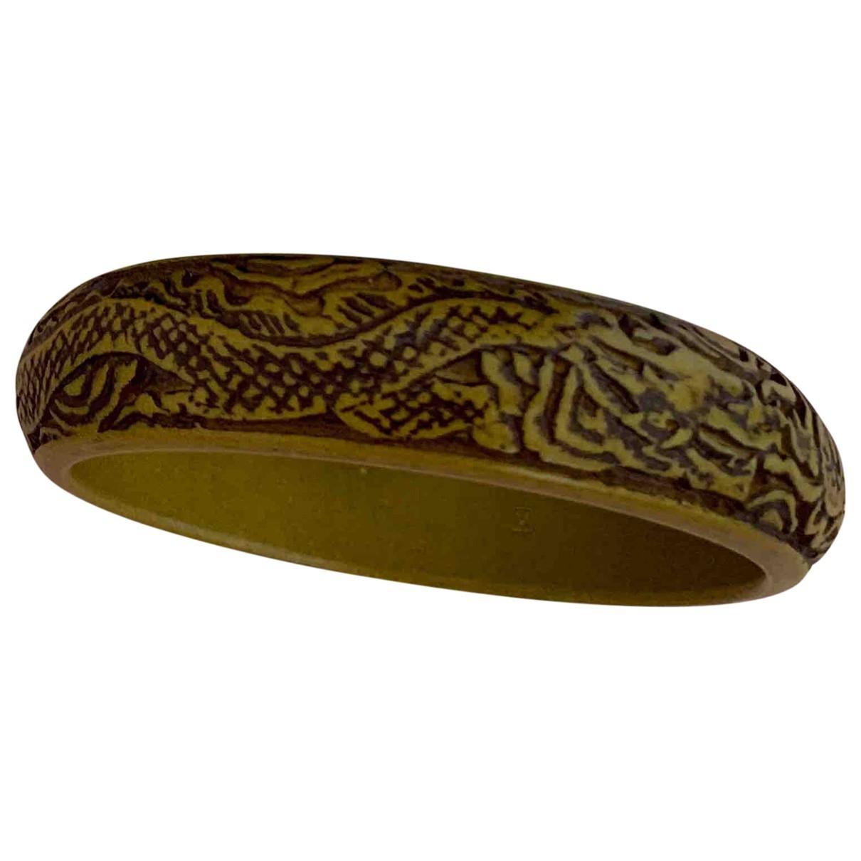 Gucci \N Khaki Wood bracelet for Women \N