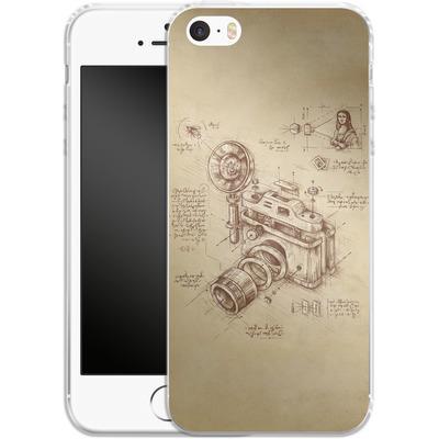 Apple iPhone 5 Silikon Handyhuelle - Moment Catcher von Enkel Dika