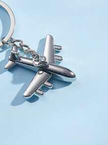 Men Airplane Charm Keychain