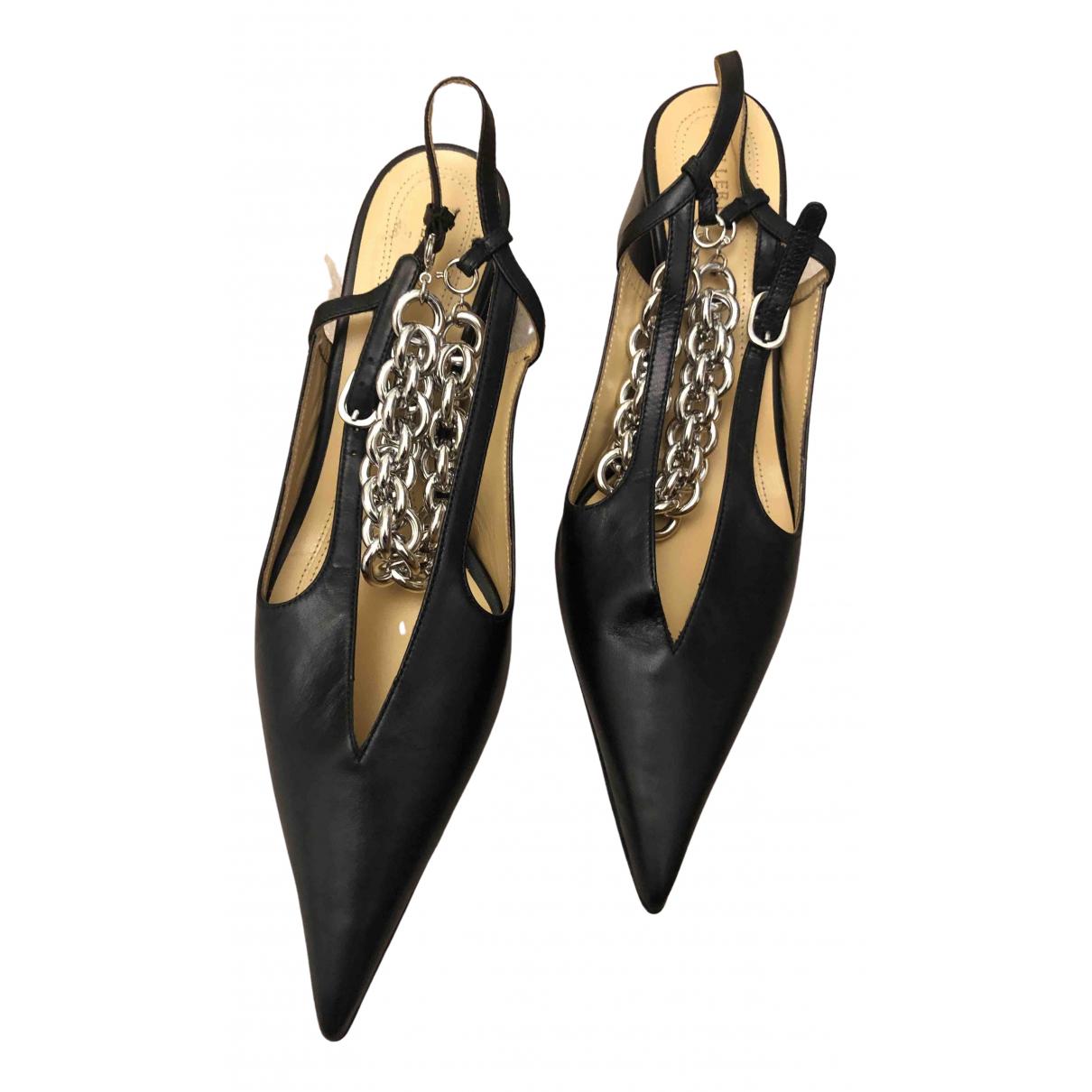 Ellery - Escarpins   pour femme en cuir - noir