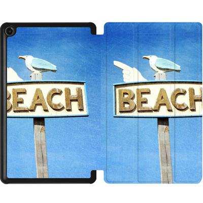 Amazon Fire 7 (2017) Tablet Smart Case - Beach von Joy StClaire