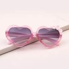 Toddler Kids Heart Shaped Sunglasses
