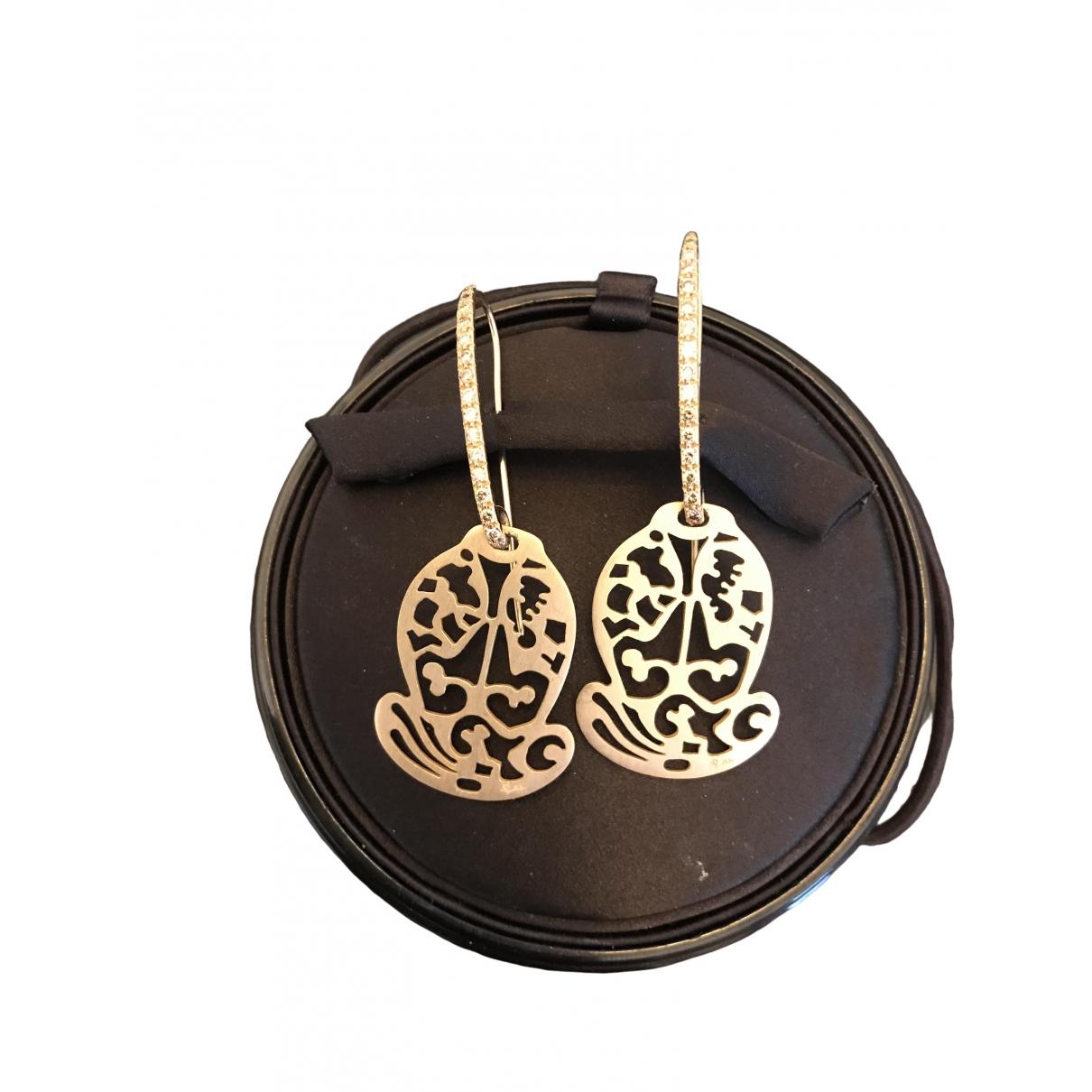 Pomellato - Boucles doreilles   pour femme en or rose - rose