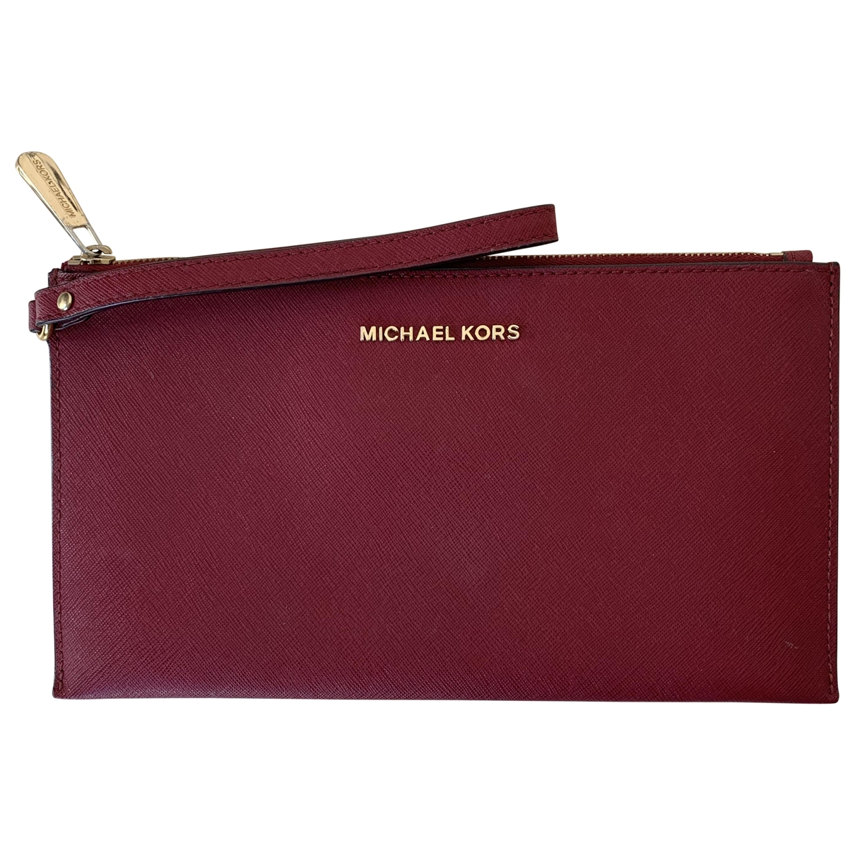 Michael Kors \N Clutch in  Rot Leder