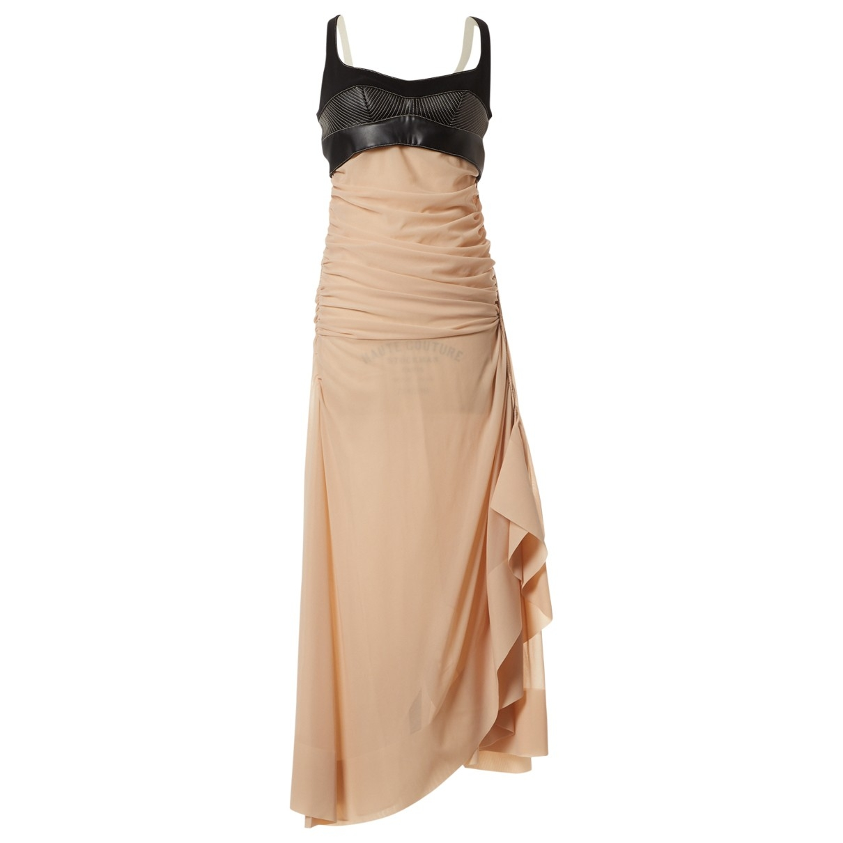 Mugler \N Kleid in  Rosa Viskose