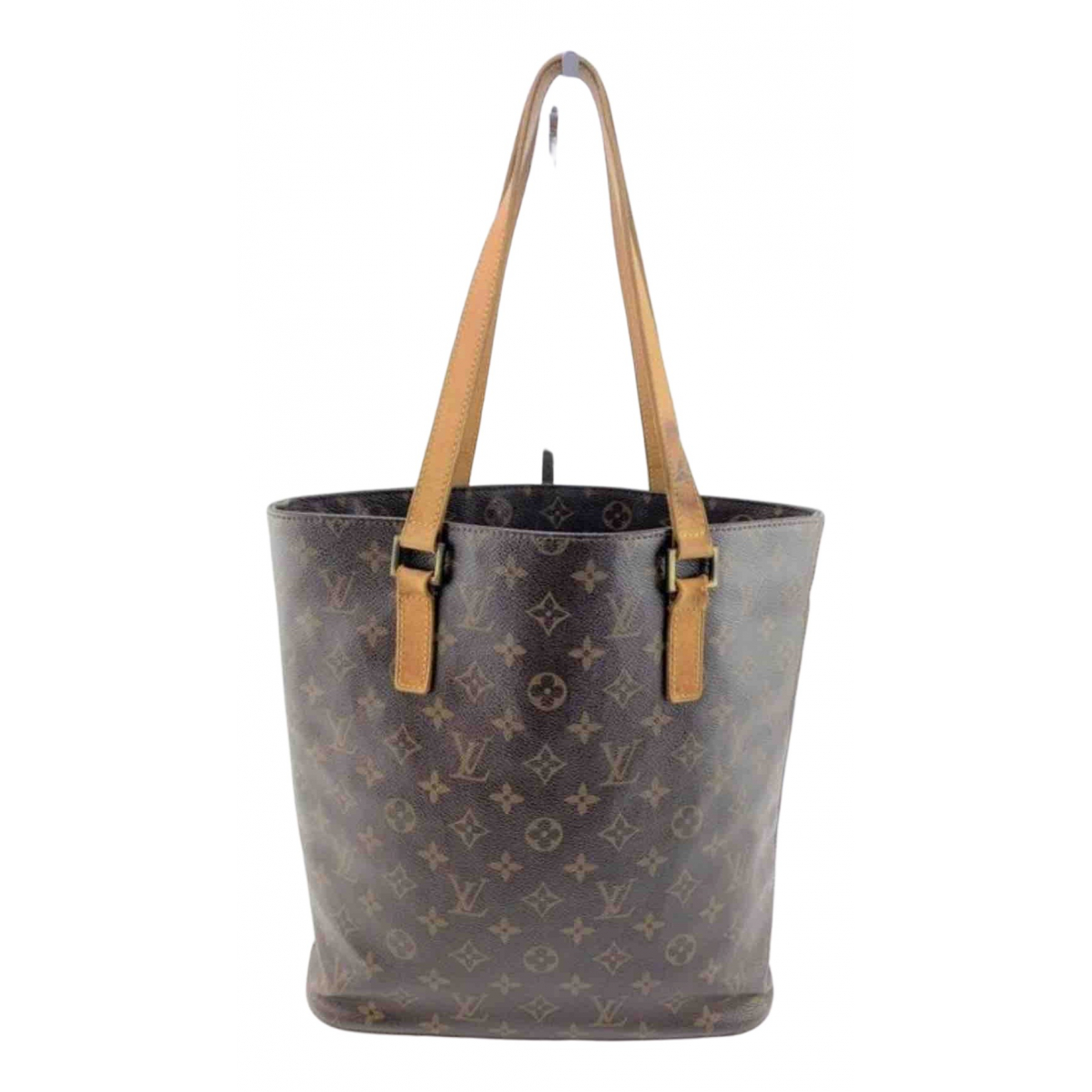 Louis Vuitton Bucket  Brown Cloth handbag for Women \N