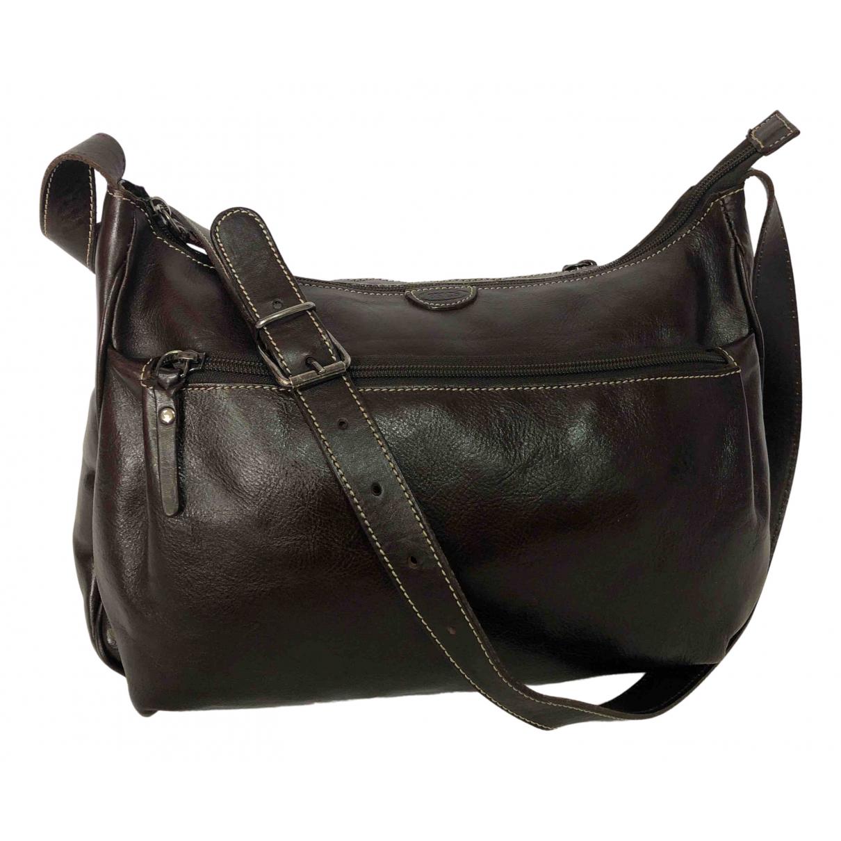 Bric's N Brown Leather handbag for Women N