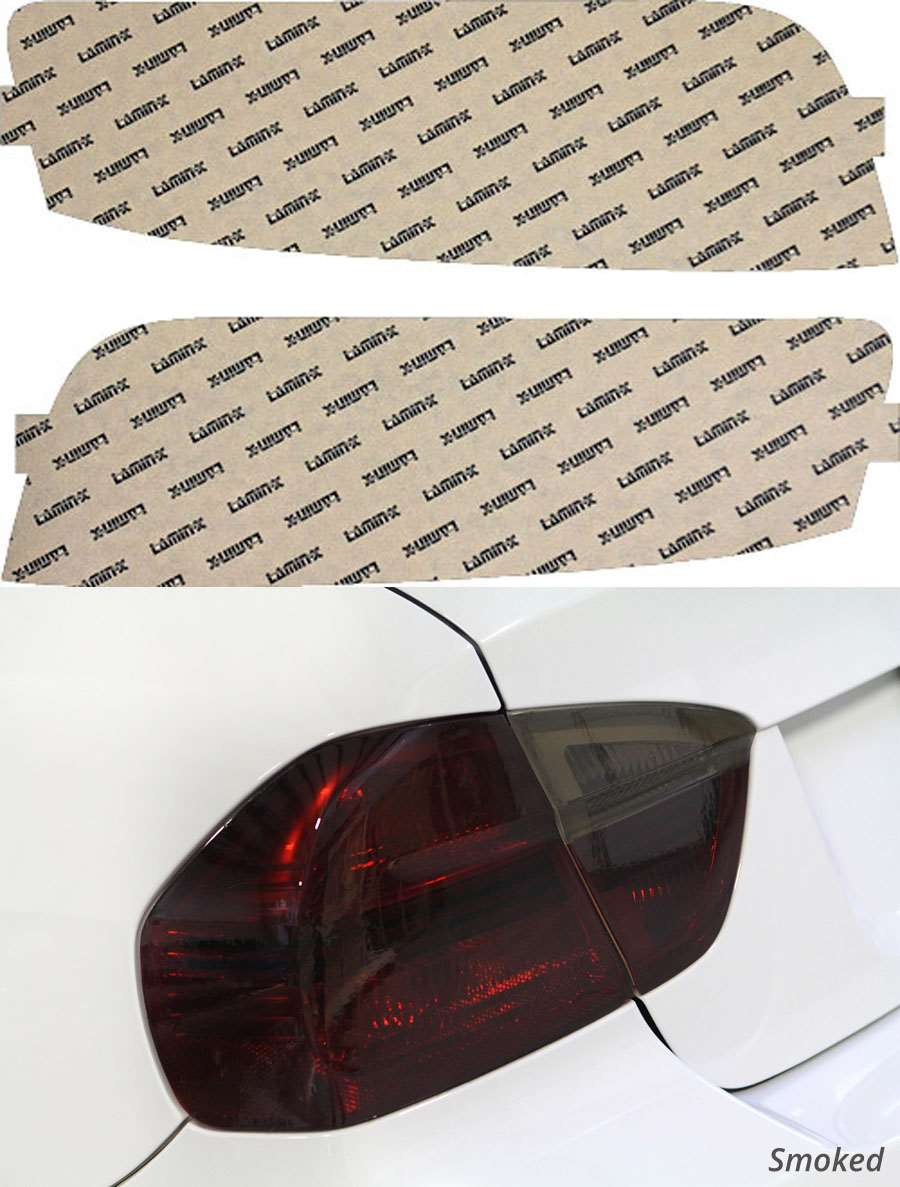 Audi R8 08-15 Smoked Tail Light Covers Lamin-X A217S