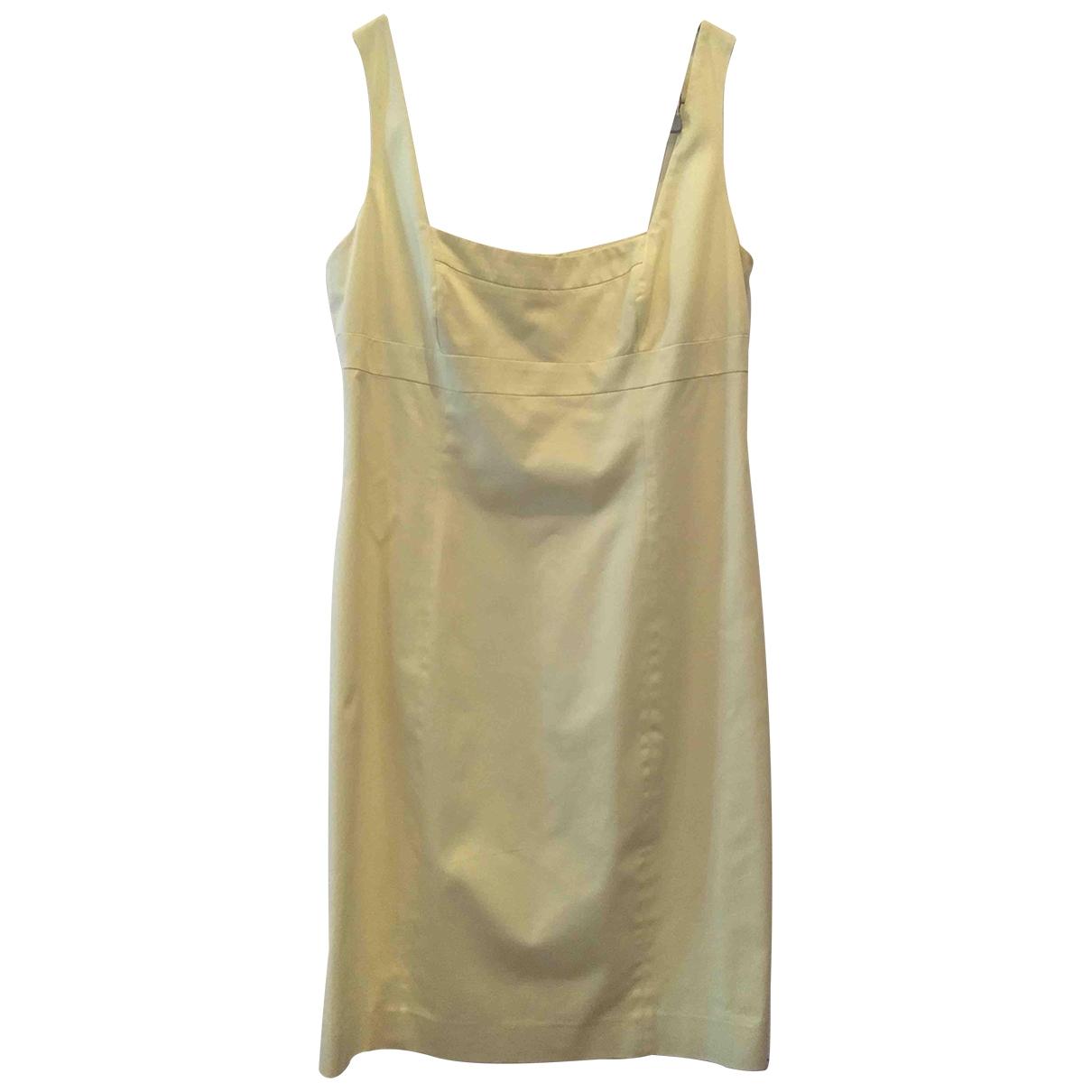 Gio Guerreri - Robe   pour femme en coton - jaune