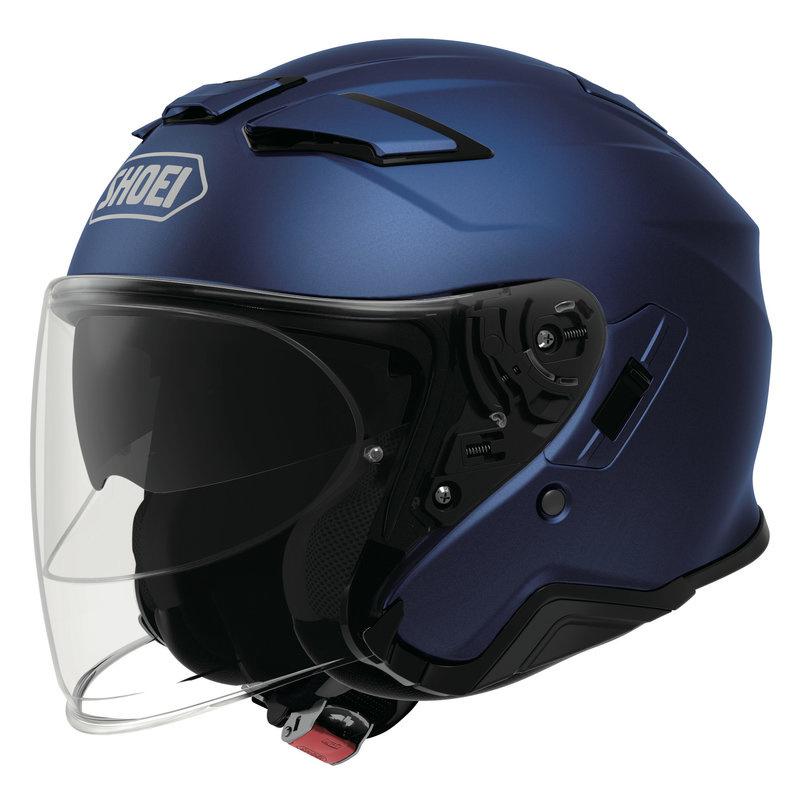 Shoei J-Cruise II Matt Blue Metal Jet Helmet L