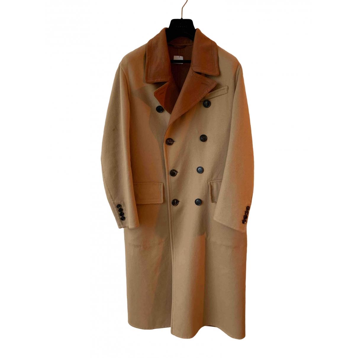 Burberry - Manteau   pour homme en cachemire - beige