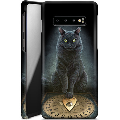 Samsung Galaxy S10 Plus Smartphone Huelle - His Masters Voice von Lisa Parker