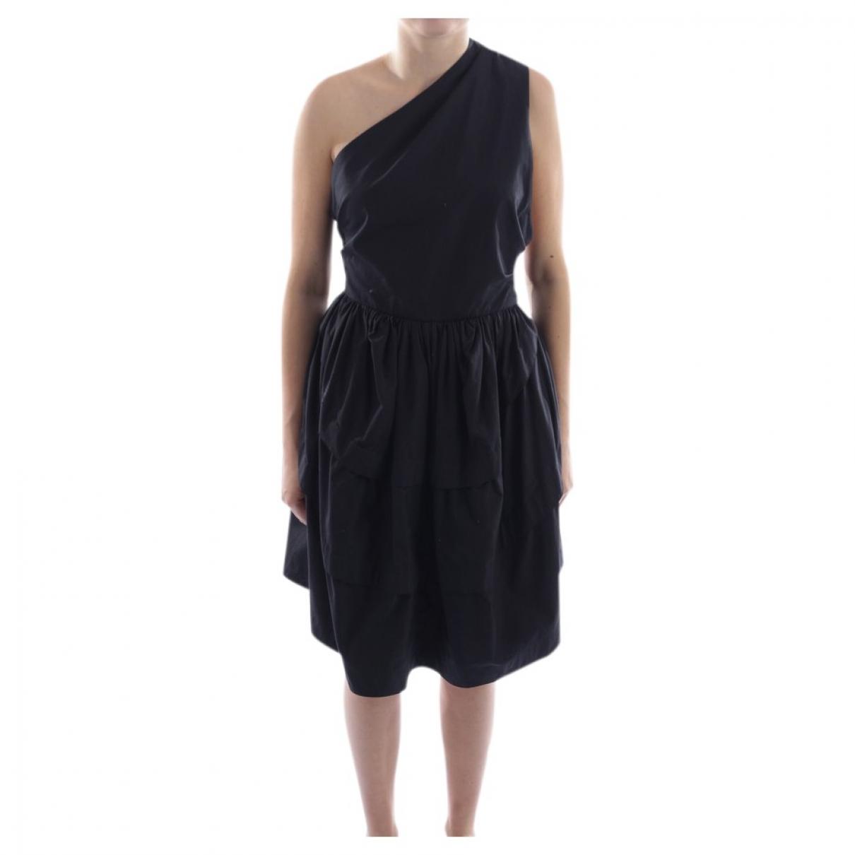 Alaïa \N Black Cotton dress for Women 36 FR