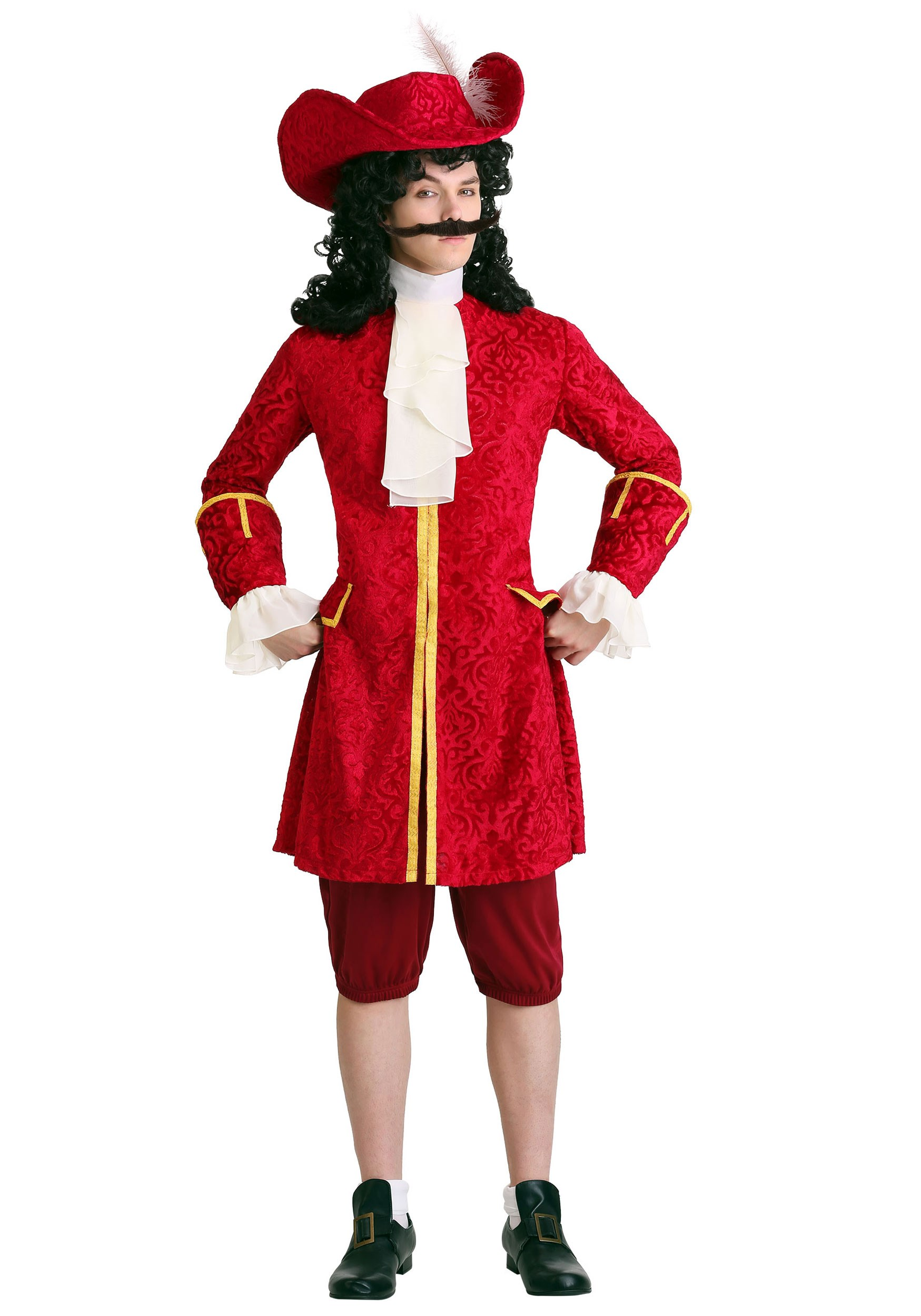Mens Privateer Pirate Costume