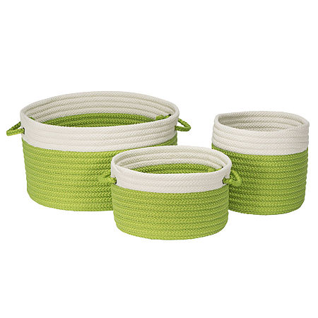 Colonial Mills Bayside Basket, One Size , Green