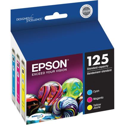 Epson T125520 Original Colour Ink Cartridge Combo C/M/Y