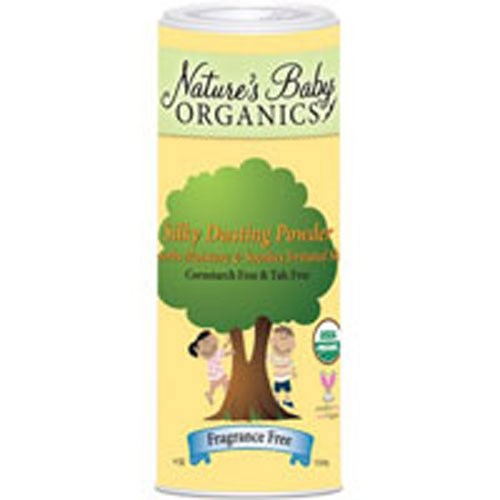 Dusting Powder Silky Smooth 4 oz by Nature's Baby Organics