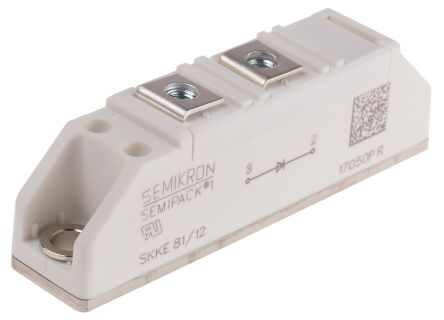 Semikron 1200V 57A, Silicon Junction Diode, 2-Pin SEMIPACK1 SKKE 81/12