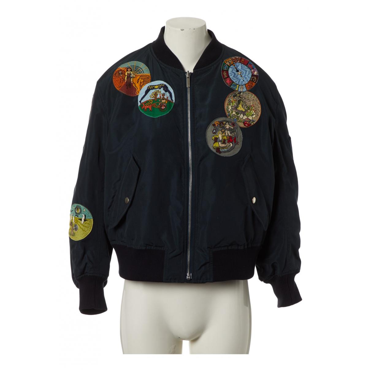 Dior \N Navy Silk jacket  for Men 36 FR