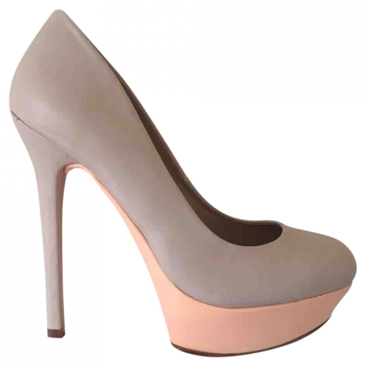 Asos \N Pumps in  Beige Leder