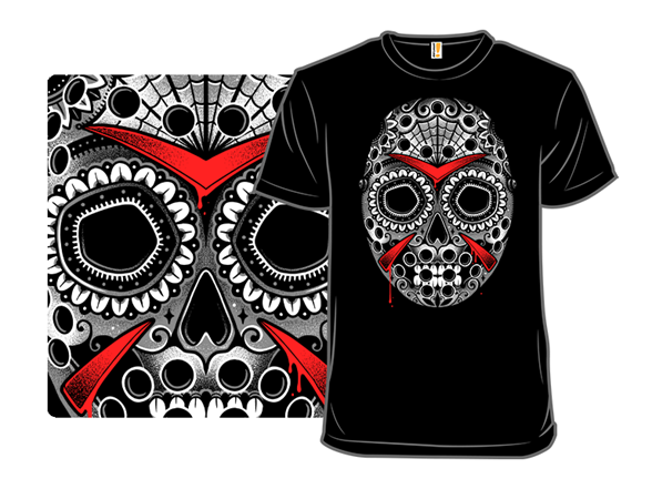 Sugar Skull Slasher T Shirt