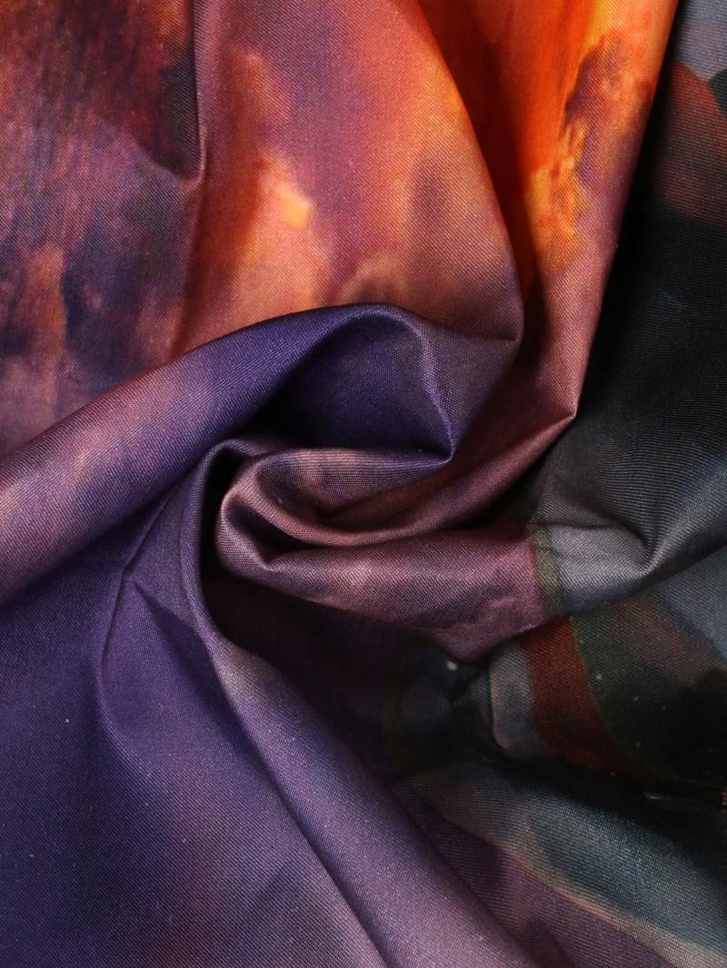 Vivilinen Twilight Scenery Jumping Dolphins Print 4-Piece Duvet Cover Sets
