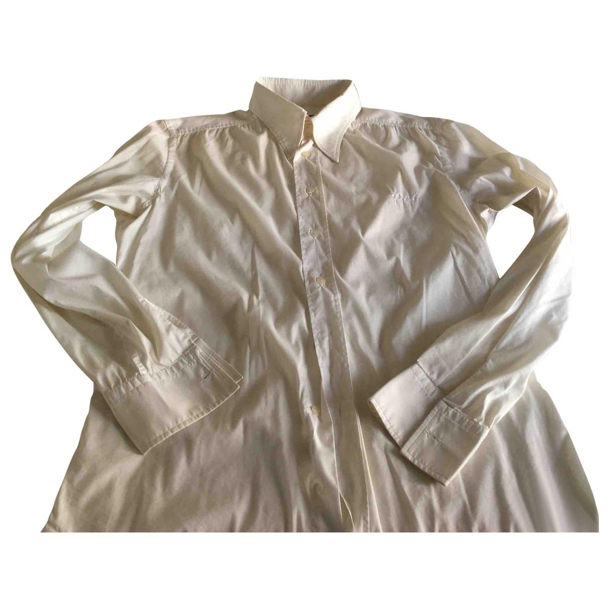 D&g \N Beige Cotton Shirts for Men L International