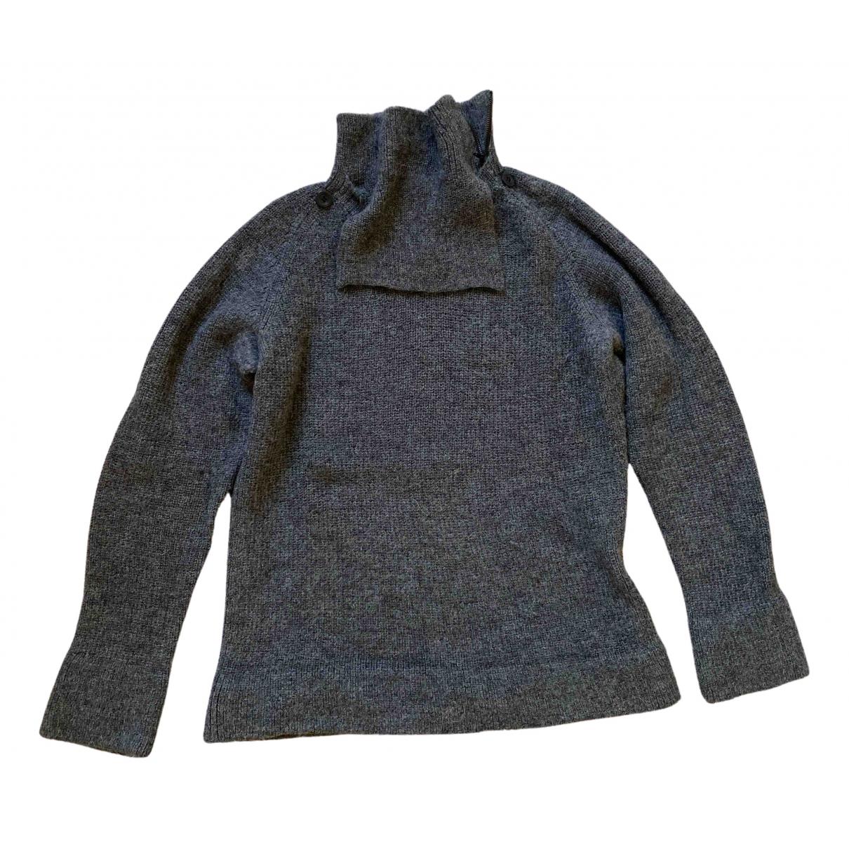 Yohji Yamamoto \N Pullover.Westen.Sweatshirts  in  Grau Wolle